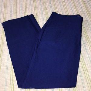 Charter Club Royal Blue Slim Leg Pants 1321